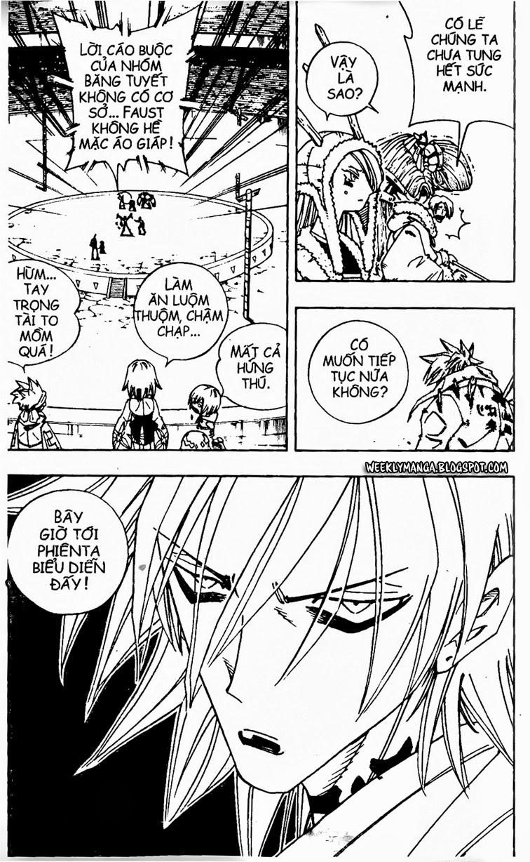 Shaman King [Vua pháp thuật] chap 130 trang 18