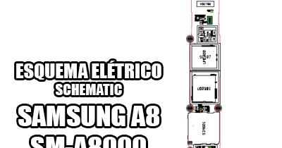 Esquema Elétrico Celular Smartphone Samsung Galaxy A8 Duos
