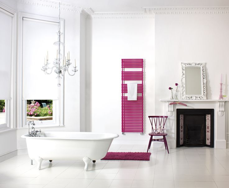 pink towel rail