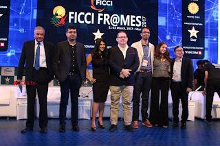 Ekta Kapoor Anurag Kashyap & Ramesh SippyAt at FICCI FRAMES 2017  0125.JPG