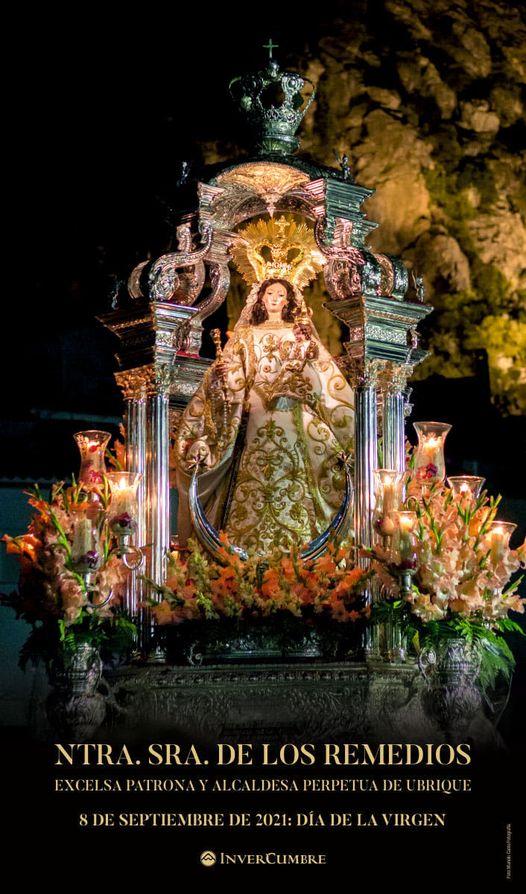 Cartel de Nuestra Señora de los Remedios - Excelsa Patrona de Ubrique 2021