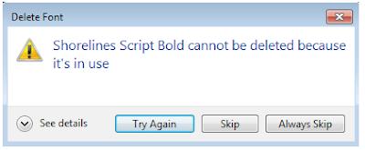 Cara Menghapus Font di Windows Dengan Mudah