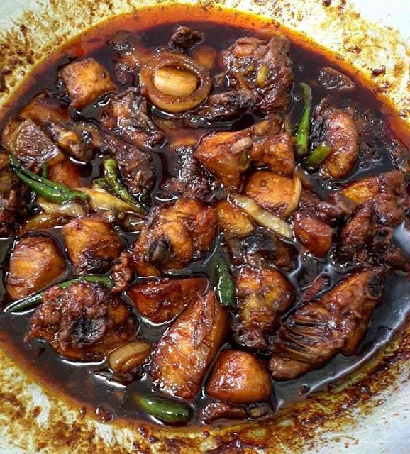 Resepi Ayam Masak Ringkas