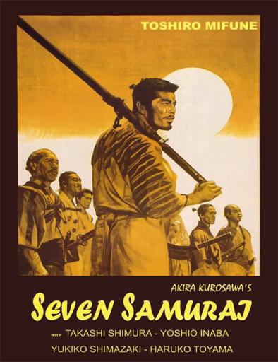 Ver Los siete samuráis (Shichinin no Samurai) (1954) Online