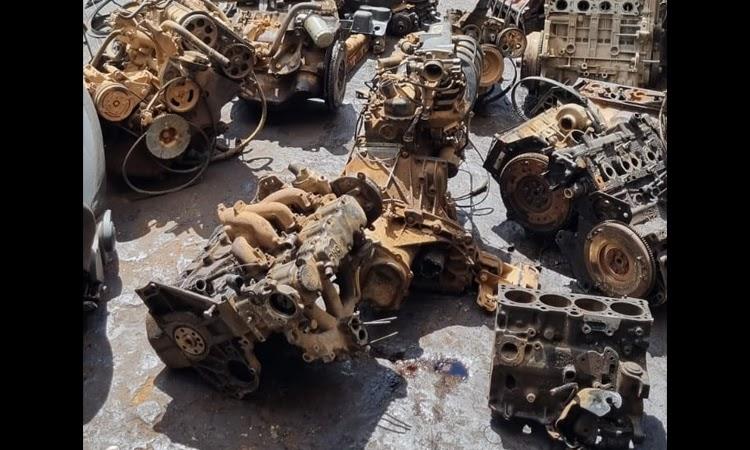 Polícia Civil apreende 30 motores em oficina na Chapada Diamantina