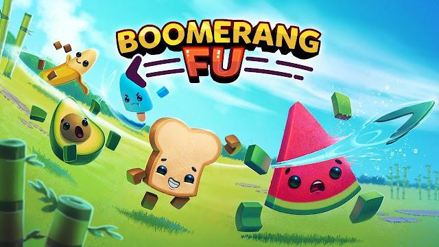 Boomerang Fu, título de ação multiplayer para até seis jogadores, chegará ao Switch em 13 de agosto