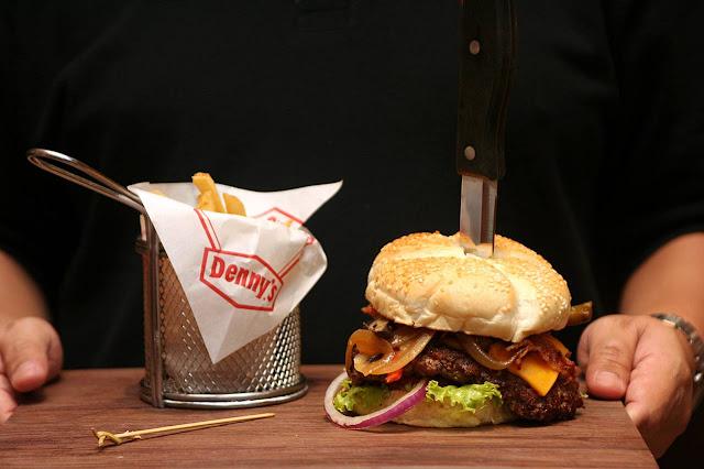 Denny's Uptown Parade Manila Bourbon Bacon Burger
