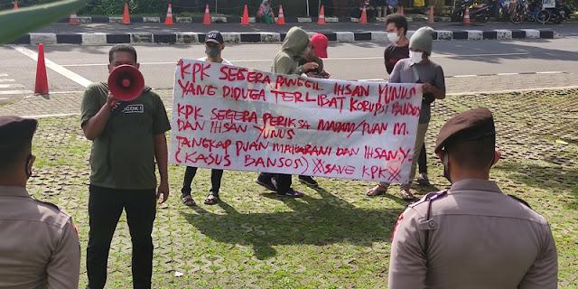 KPK Didesak Jemput Paksa Politisi PDIP Ihsan Yunus