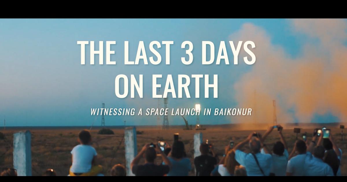 """""""The Last 3 Days on Earth"""", Yuri Gagarin, Paolo Nespoli, puro amore per lo spazio, by Biagio Cimini!"""