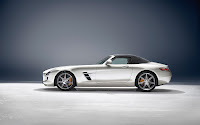 Mercedes-Benz SLS AMG Roadster side