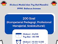 Try Out Mandiri PPPK Bahasa Jerman (200 Soal)