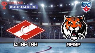 Спартак – Амур  смотреть онлайн бесплатно 12 октября 2019 прямая трансляция в 17:00 МСК.