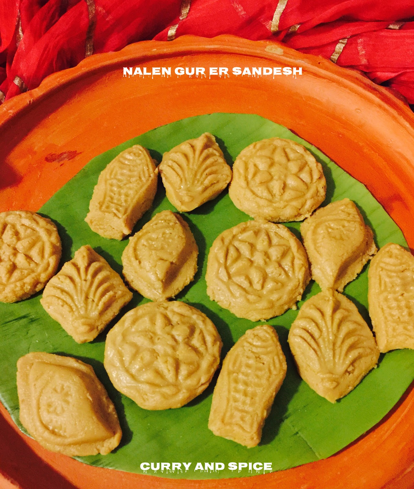 CURRY AND SPICE: NOLEN GURER SANDESH / COTTAGE CHEESE