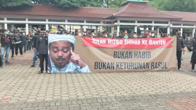 Anshor dan Banser NU Tolak Habib Rizieq Datang ke Banten