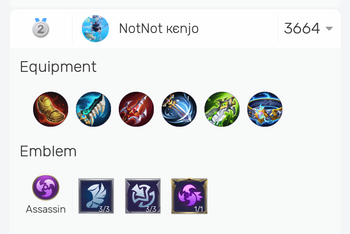 Karrie Best Build Mobile Legends From Top Global 2021