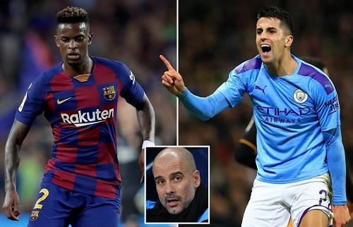 Man City và Barca tiến gần thỏa thuận đổi hậu vệ cánh