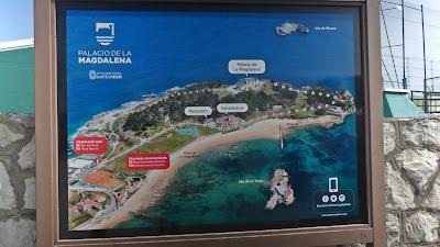 mapa półwysep Magdaleny Santander