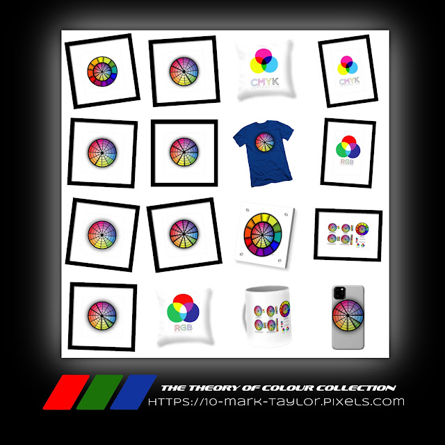 The theory of colour collection of artworks and gifts from Mark Taylor