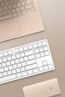 harga Keyboard Xiaomi Hadir dengan 87 Tombol Aluminium