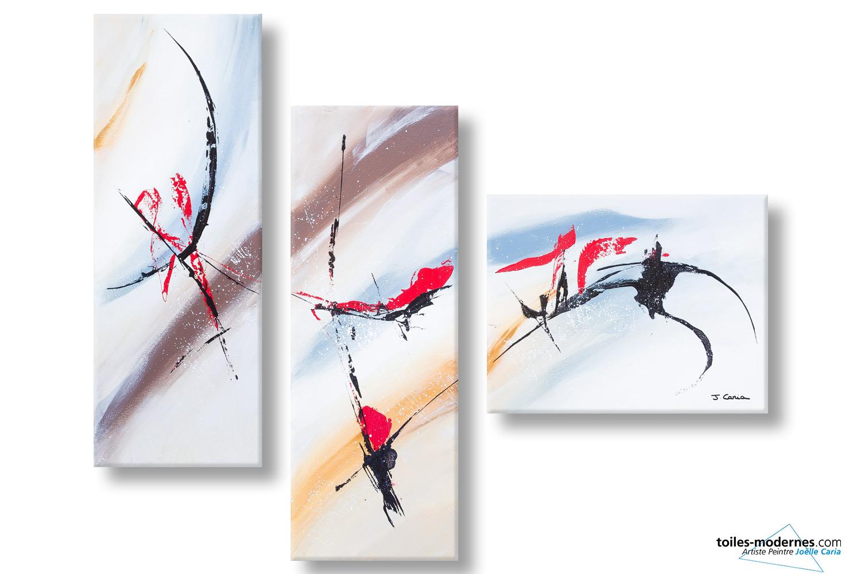 Jo lle caria artiste peintre toiles tableaux modernes contempor - Tableaux modernes pas cher ...