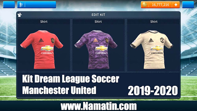 Kit Dream League Soccer Manchester United