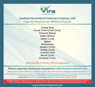 Catering Company for Offshore Project