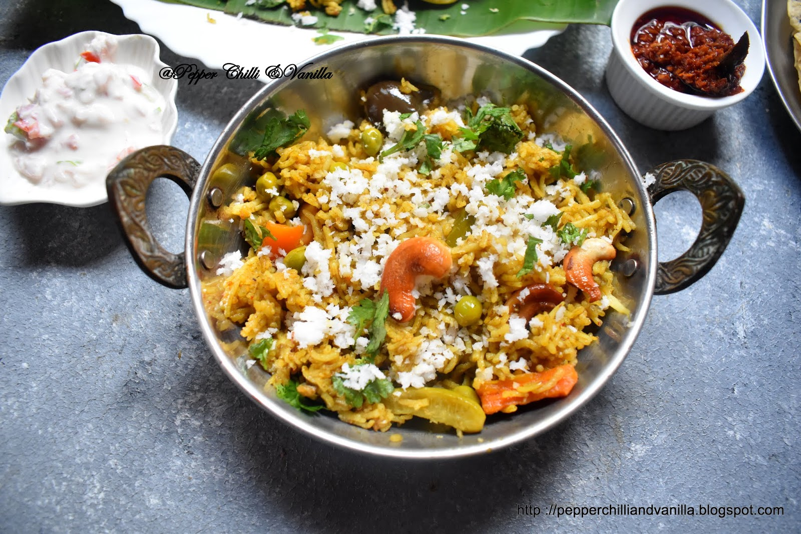 masale bhaat using goda masala