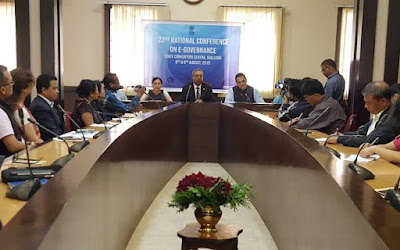 22nd National Conference on e-Governance 2019 to be held at Shillong