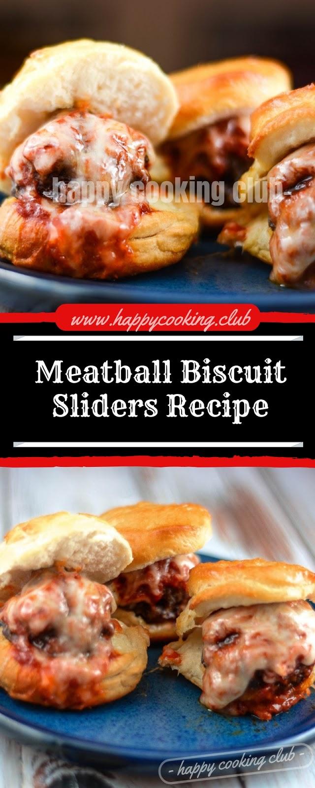 Meatball Biscuit Sliders Recipe