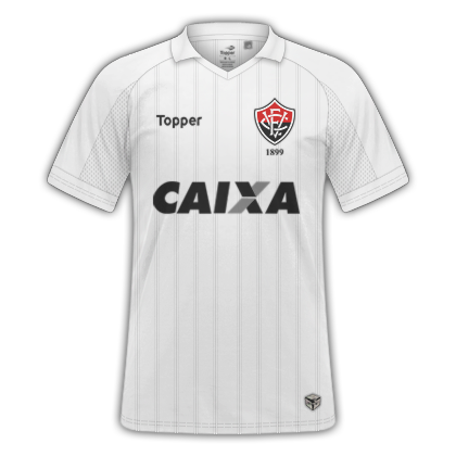 Camisas Vitória 2017   2018 - Home e Away. Home. Away. Material Esportivo   Topper c045fd1df00cd
