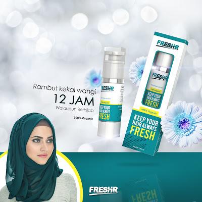 FreshR Serum Rambut Organik Pelindung Terbaik Untuk Rambut Sihat