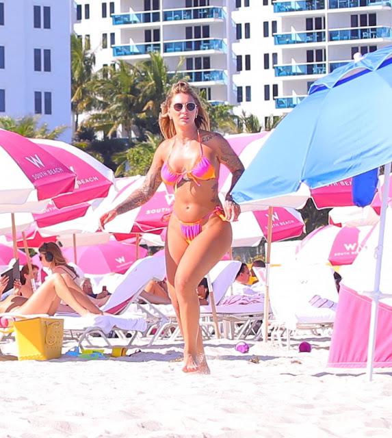 Chanel West Coast – In a bikini in Miami