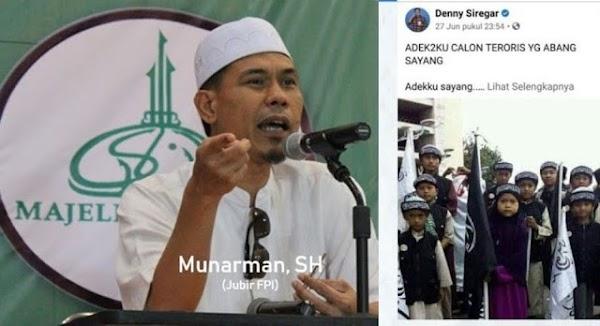 Kasus Denny Siregar Mandeg, Munarman: Negara Kita Sakit Keras…