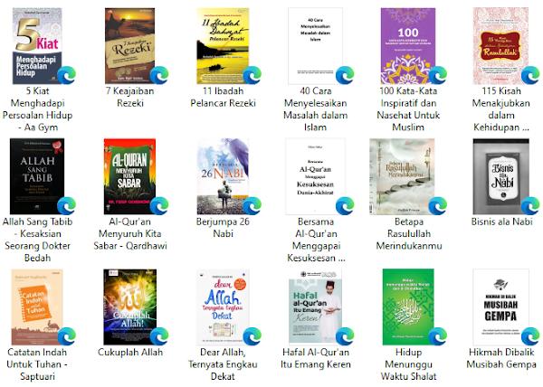 download buku islam tentang motivasi hidup dan hikmah sufi
