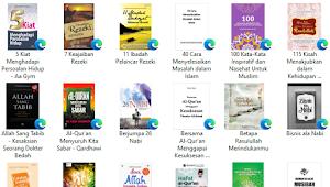Download Ebook Motivasi dan Hikmah Islami PDF Puluhan Judul