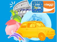 Logo Concorso Eurospin ''Scopri l'Italia, vinci l'Estate'' : gratis buoni spesa fino a 50€ o buoni vacanza da 3.000€ (con acquisto)