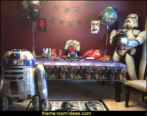Star Wars party decorations  - Star Wars party decor - star wars party decorating