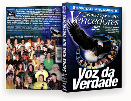 MAIS QUE VENCEDORES DVD-R OFICIAL