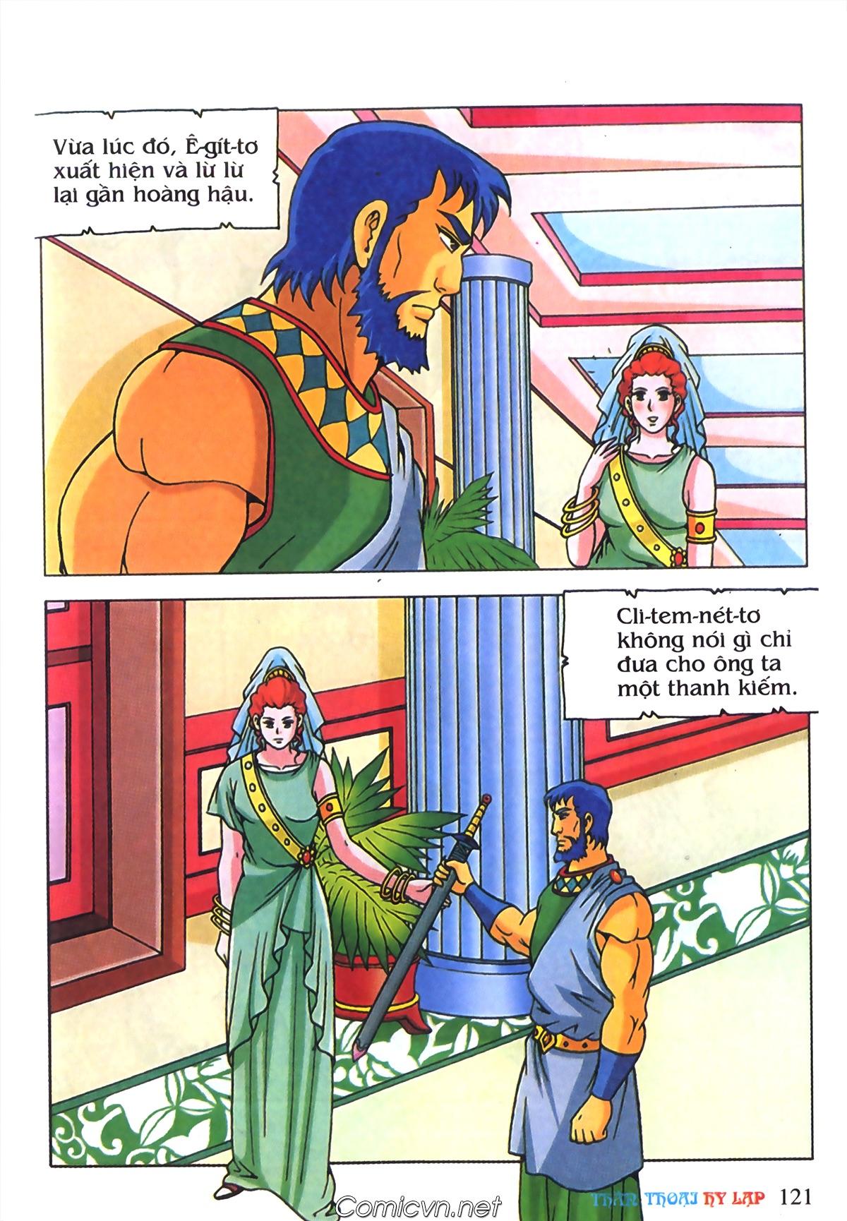 Thần Thoại Hy Lạp Màu - Chapter 70: Nàng Ê lếch tơ - Pic 14