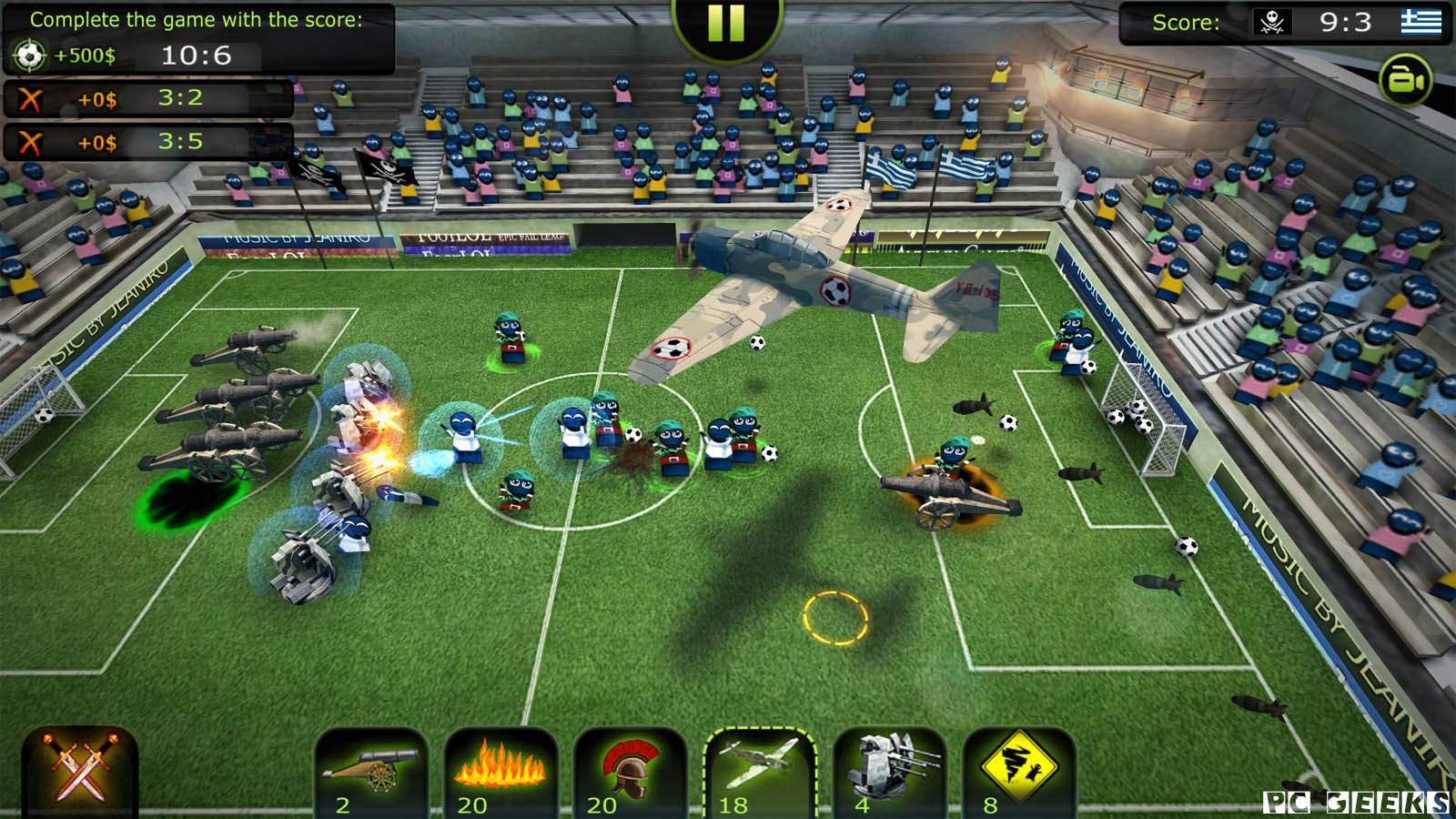 تحميل لعبة FootLOL مضغوطة برابط واحد مباشر كاملة مجانا