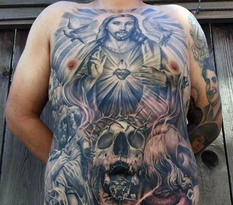 150+ Unique Christian Tattoos For Men (2019)