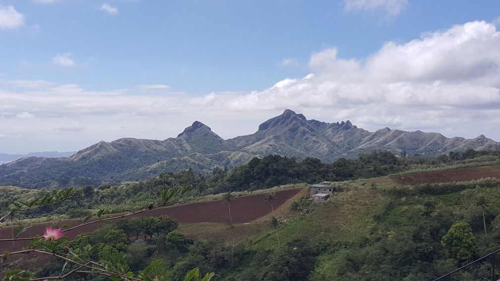Mt. Batulao as viewed from the Chapel on the Hill