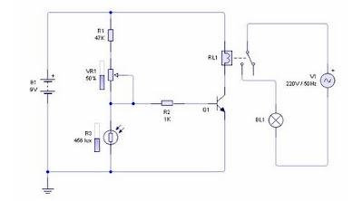 Sensor Cahaya Menggunakan LDR