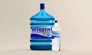 تحميل موك أب لزجاجات المياه Water Bottle Mockup1