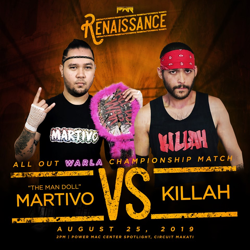 PWR Renaissance Predictions: Martivo vs. Killah