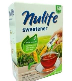 Nulife Sweetener Rekomendasi Gula untuk Diet yang Rendah Kalori