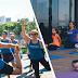 Track&Field Experience realiza aula de Yoga no Iguatemi Alphaville
