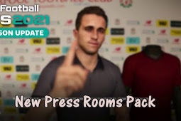 Press Rooms Pack For - PES 2021