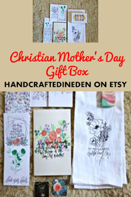 Christian Mothers Day Gift Box from Handcrafted in Eden on Etsy