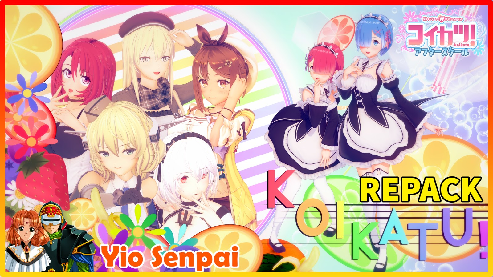 [REPACK] Koikatu / Koikatsu Ver 5.1 v4.0 AD-Hentai + Google Translate + All DLC's+MOD's Uncensored